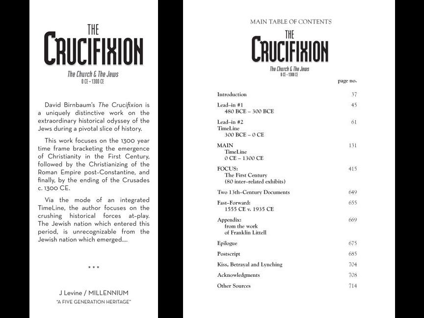 Historian David Birnbaum writer & author:   challenges the Church on  Holocaust Hijacking