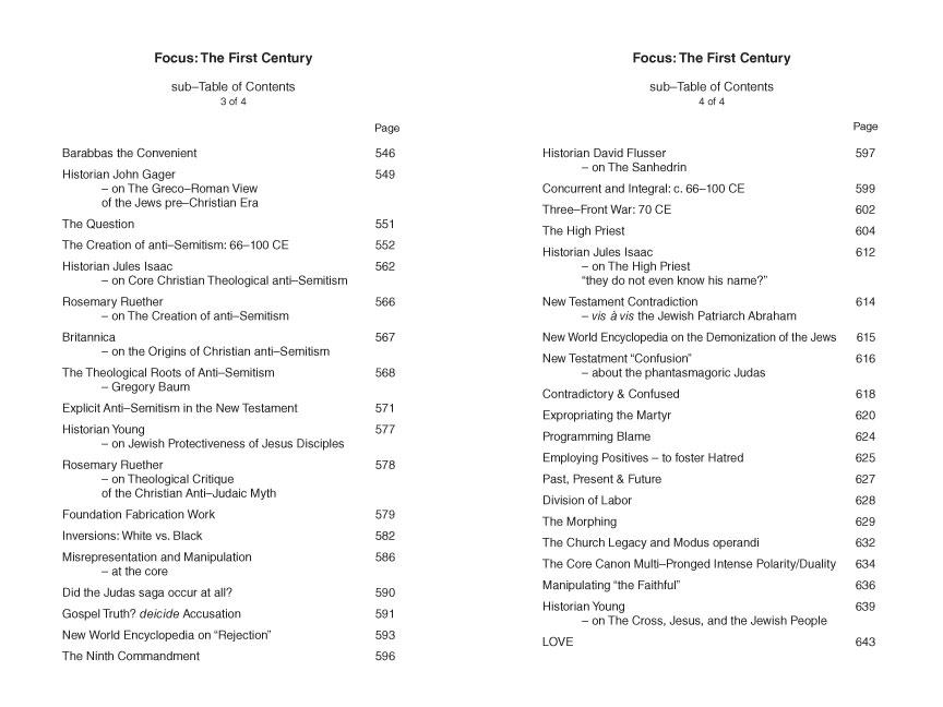 Historian David Birnbaum  writer & author:   Challenges the Church  on key New Testament vignettes